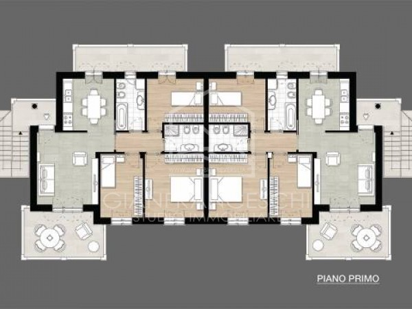 Riferimento 1050 - Appartamento in Vendita a Renella