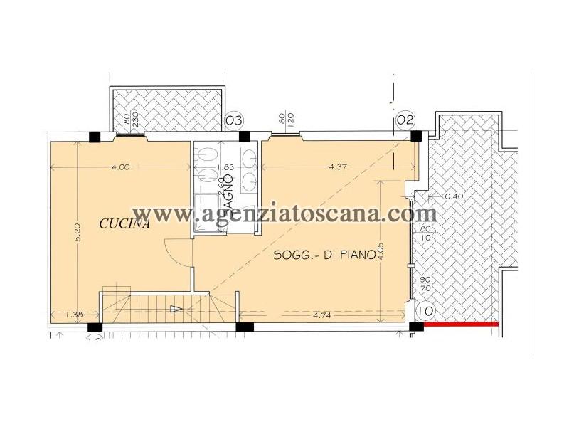 Appartamento in vendita, Montignoso - Cinquale -  4