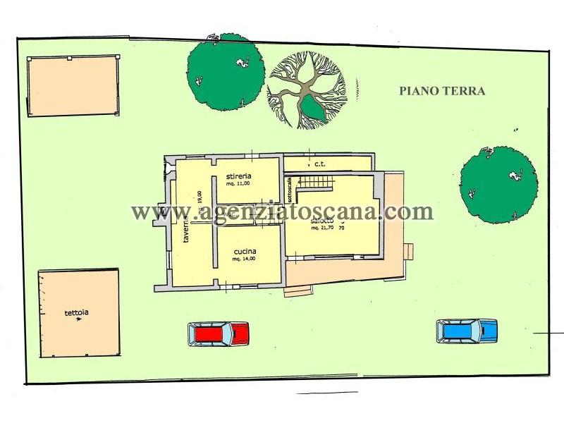 Villetta Singola in vendita, Forte Dei Marmi - Ponente - Situazione Attuale 16
