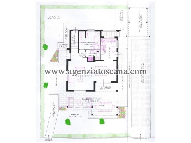Villetta Singola in vendita, Pietrasanta - Marina Di Pietrasanta -  21