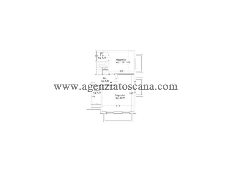 Immobile Commerciale - Direzionale in vendita, Forte Dei Marmi - Vittoria Apuana - ufficio 3 p.s. 4