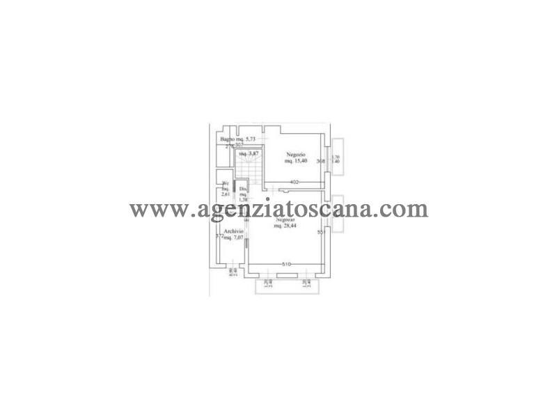 Immobile Commerciale - Direzionale in vendita, Forte Dei Marmi - Vittoria Apuana - ufficio 3 p.t 3