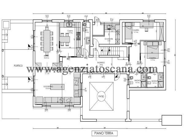 Villa Con Piscina in vendita, Forte Dei Marmi - Caranna -  12