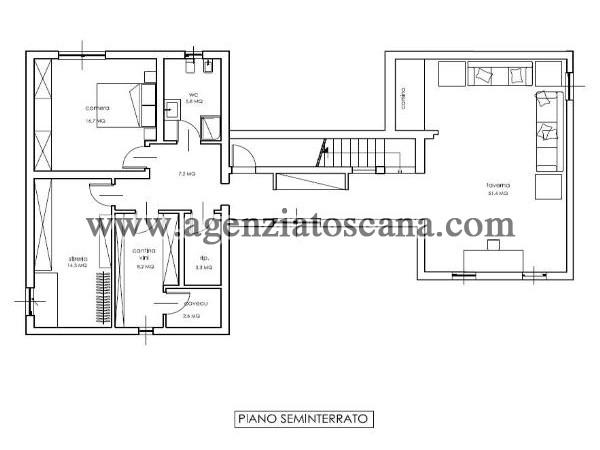 Villa Con Piscina in vendita, Forte Dei Marmi - Caranna -  11