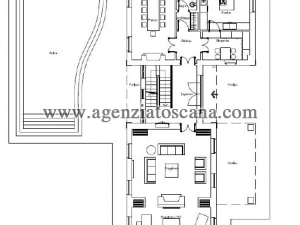 Villa Con Piscina in vendita, Forte Dei Marmi - Ponente - PIANO TERRA 17