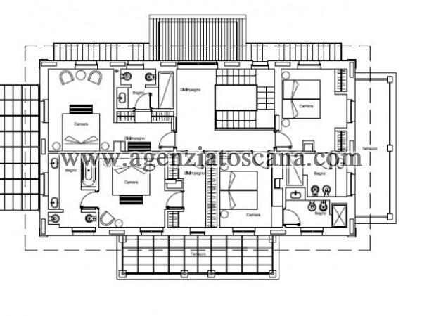 Villa Con Piscina in vendita, Forte Dei Marmi - Ponente - PIANO PRIMO 8
