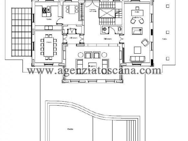Villa Con Piscina in vendita, Forte Dei Marmi - Ponente - PIANO TERRA 7