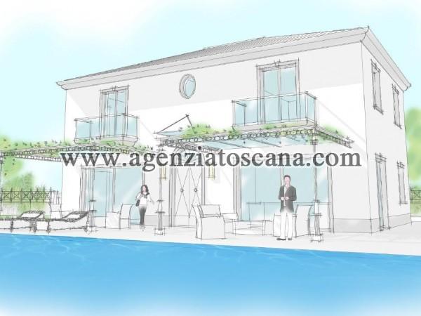 Forte Dei Marmi,terreno Con Rustico Con Possibilita' Di Edificare Villa Con Piscina