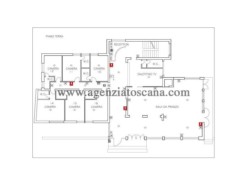 Albergo in vendita, Montignoso - Cinquale -  13