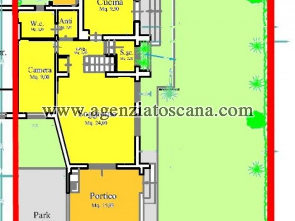 Villa Bifamiliare in vendita, Forte Dei Marmi - Centrale -  13