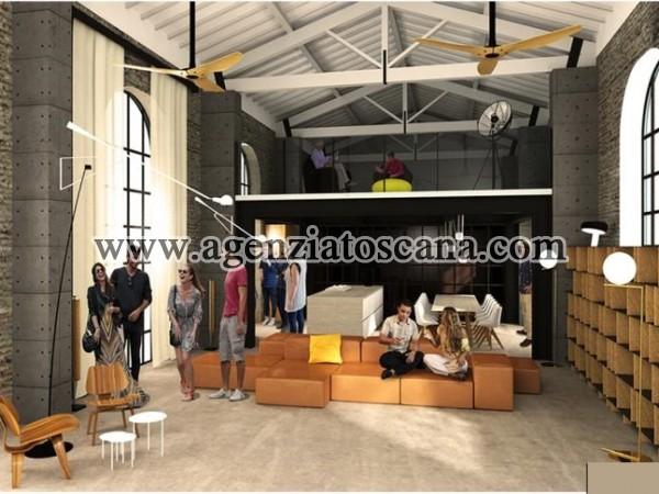 Loft Molto Grande A Pietrasanta Zona Centro