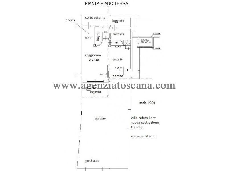 Villa Bifamiliare in vendita, Forte Dei Marmi - Ponente -  2