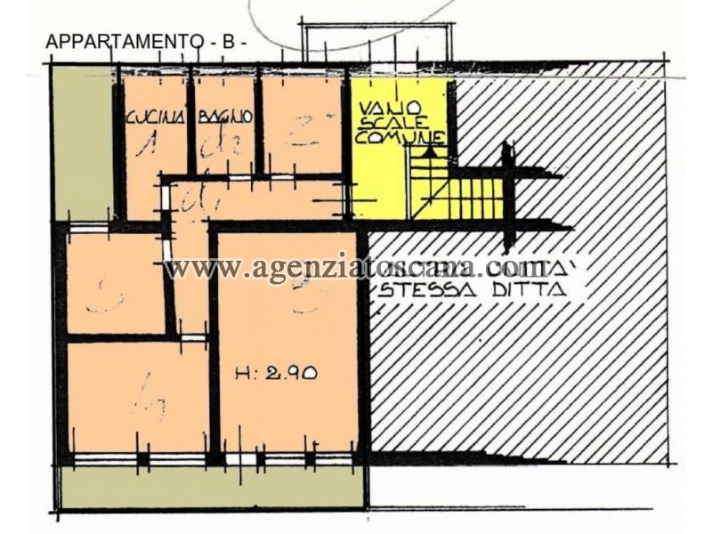 Appartamento in vendita, Forte Dei Marmi - Vittoria Apuana - APPARTAMENTO B 3
