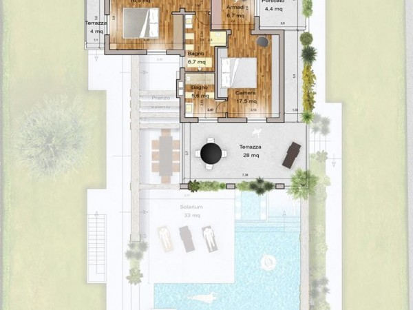 Rif. 2122 - villa singola in affitto a Forte Dei Marmi | Foto 10
