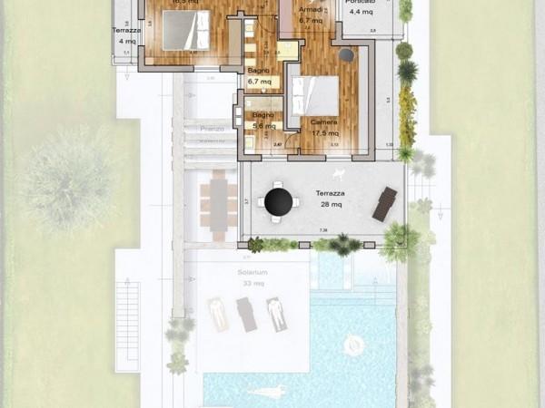 Rif. 2122 - villa singola in affitto a Forte Dei Marmi   Foto 25