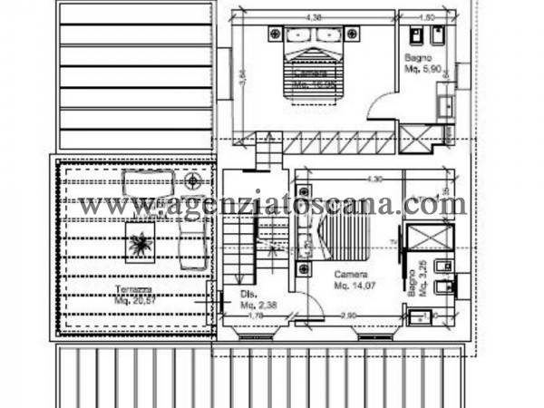 Villa With Pool for rent, Pietrasanta - Crociale -  6