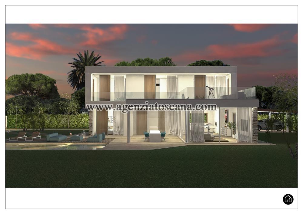 Villa Con Piscina In Vendita A Forte Dei Marmi Vaiana Superficie Mq 190 Con Giardino Piscina Rif V003089