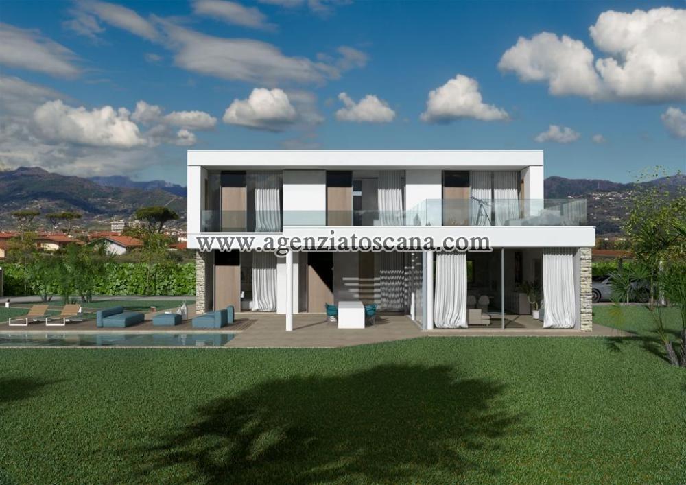 Villa Con Piscina in vendita, Forte Dei Marmi - Vaiana - Progetto con 2800 mq. di terreno 1
