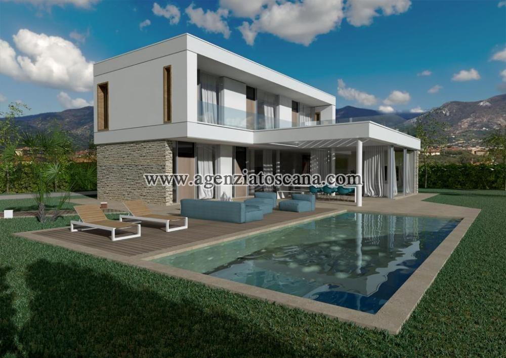 Villa Con Piscina in vendita, Forte Dei Marmi - Vaiana - Progetto con 2800 mq. di terreno 0