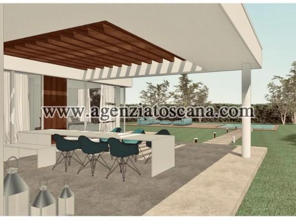 Villa Con Piscina in vendita, Forte Dei Marmi - Vaiana - Progetto con 1200 mq. di terreno 8