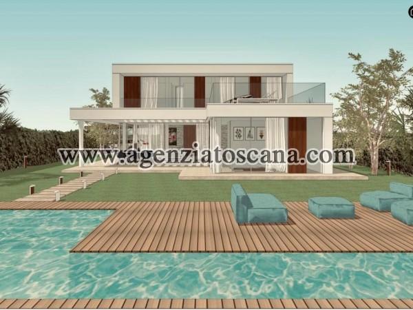 Villa Con Piscina in vendita, Forte Dei Marmi - Vaiana - Progetto con 1200 mq. di terreno 5