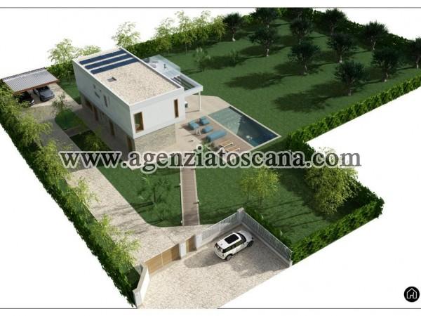 Villa Con Piscina in vendita, Forte Dei Marmi - Vaiana - Progetto con 2800 mq. di terreno 3