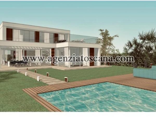 Villa Con Piscina in vendita, Forte Dei Marmi - Vaiana - Progetto con 1200 mq. di terreno 6