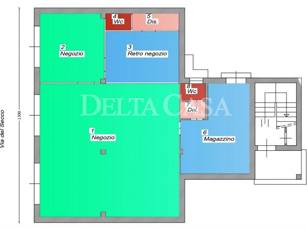 Reference LC001LC - Immobile Commerciale - Locale for Affitto in Lido Di Camaiore
