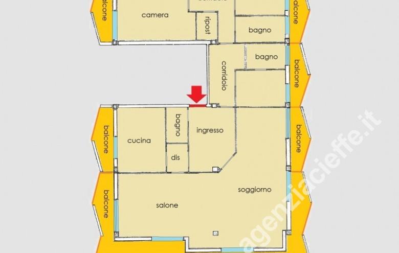 Agenzia Cieffe - planimetria
