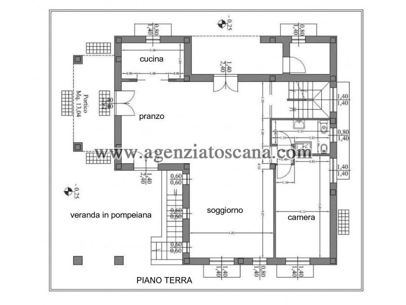 Villa in vendita, Forte Dei Marmi - Zona Via G. Battista Vico -  47