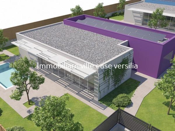 Moderna villa in costruzione d