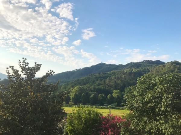 Bella villa con vista panorami