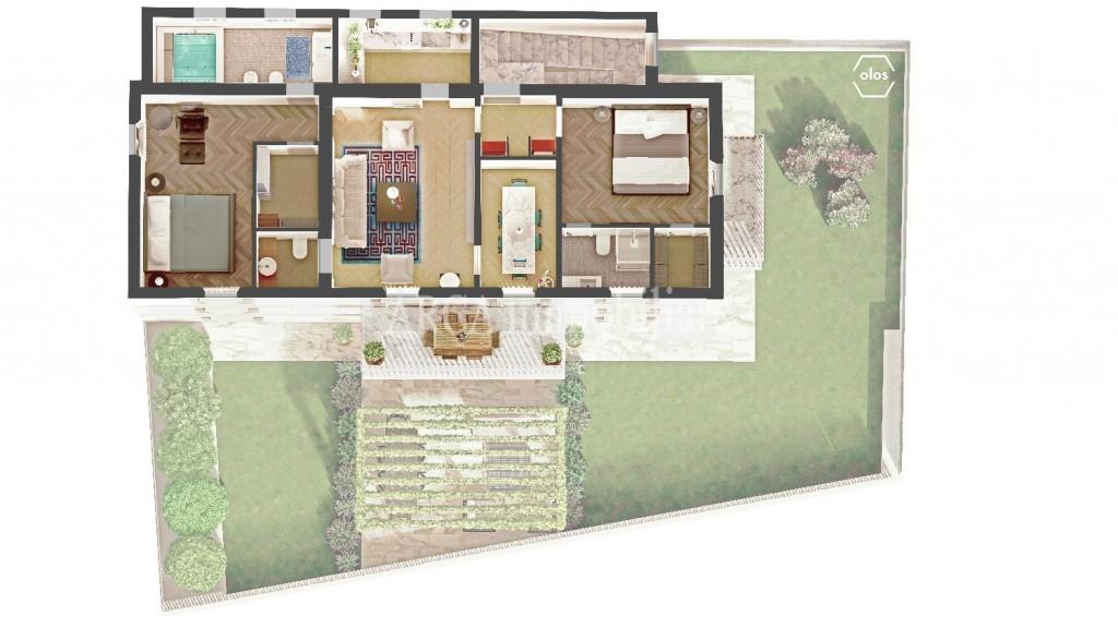 Appartamentoin Vendita, Pietrasanta - Centro Storico - Riferimento: C2408