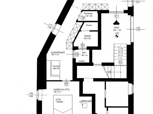 Riferimento A011 - Appartamento in Vendita a Madrano