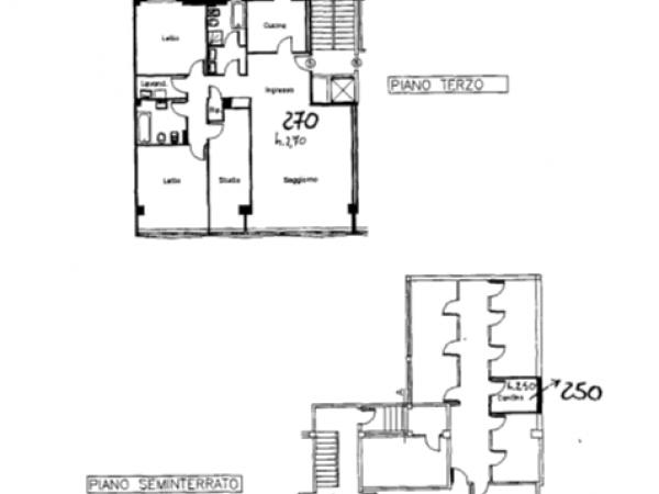 Riferimento 597AM - Appartamento in Affitto a Alessandria