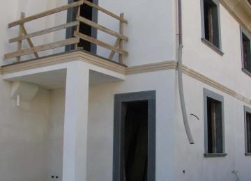 Villa bifamiliare al grezzo in