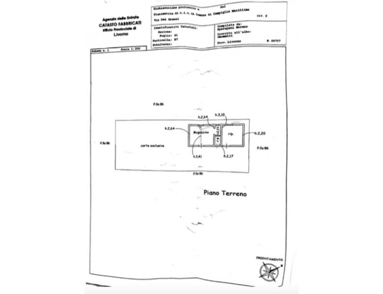 Agenzia Immobiliare Arcobaleno - Planimetria 1
