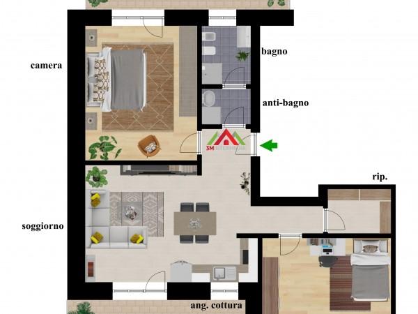 Riferimento 611A - Appartamento in Vendita a Alessandria