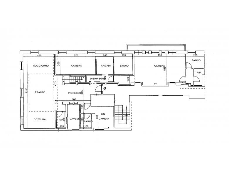 Agenzia immobiliare Pieri - Planimetria 1