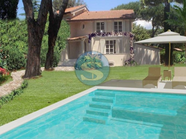 Reference SV54 - Two-family Villa for Sale in Marina Di Pietrasanta