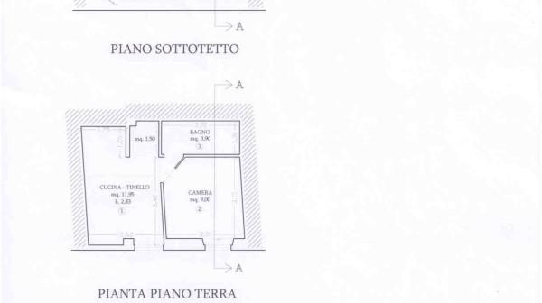 Forte dei Marmi bilocale semindipendente Rif 647 Agenzia Immobiliare Chioni